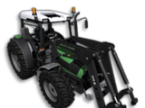 Deutz Agrofarm 430 with Front Loader (Farming Simulator 2013)