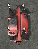 FS17 Telehandler SteeringCrabLeft