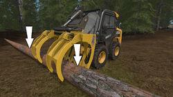 FS17 LogForks VerticalLifting