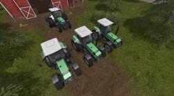 FS17 DeutzFahr-AgroStar661 WheelComparison