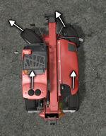 FS17 Telehandler SteeringFrontWheel
