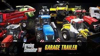 Farming Simulator 15 Consoles Garage Trailer