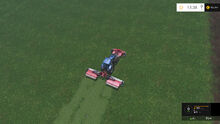 Mowing with Triple Headers FS15