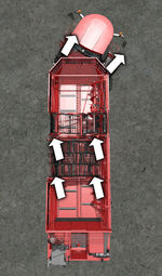 FS17 HolmerExxact-TerraDosT440 SteeringTurn