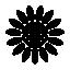 FS17 Icon Sunflower Black Small
