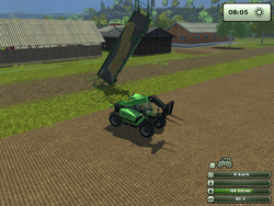 FS13 fucked up bale trailer