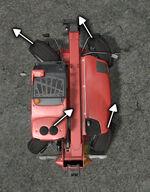 FS17 Telehandler SteeringAllWheel