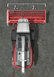 FS17 Rostselmash-500D Offset