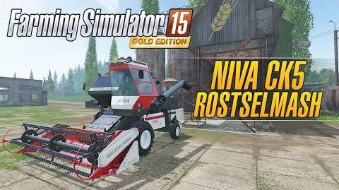 Farming Simulator 15 GOLD Edition - Rostselmash Niva CK5