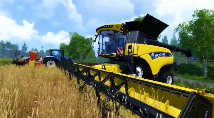 farming simulator when to harvest