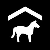 FS19 Icon HorsePaddock Black