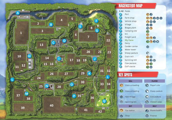 Hagenstedt Map