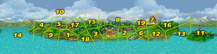 Island 1 Fog number(NO Fog)