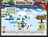 Holiday Tree Inside Notification
