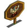 Partying Chicken Mastery Sign-icon