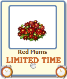 Red Mums Limited Time gift-icon
