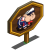 Sailor Pig Mastery Sign-icon
