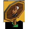 Buckskin Mini Stallion Mastery Sign-icon