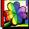 Rainbow Clover-icon