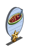 Rhubarb Crumble 1 Star Mastery Sign-icon