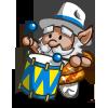 Samba Drummer Gnome-icon
