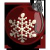 Snowflake Ornament I-icon