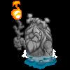 Caveman Statue-icon