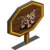 Clouded Leopard Mastery Sign-icon