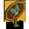 Rainbow Hummingbird Mastery Sign-icon