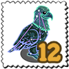 Altair Eagle Stamp-icon