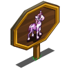 Cherry Blossom Foal Mastery Sign-icon