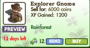 Explorer Gnome Market Info (July 2012)