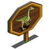 Gallimimus Mastery Sign-icon