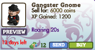 Gangster Gnome Market Info (May 2012)