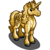 Gold Rose Unicorn-icon