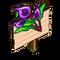 Purple Anthurium Mastery Sign-icon