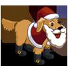 Santa Dog-icon