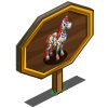 Splatter Paint Horse Mastery Sign-icon