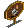 Big Kung Fu Monkey Mastery Sign-icon