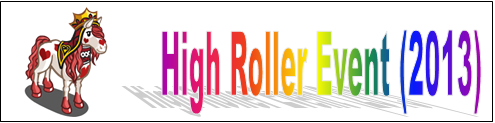 High Roller Event (2013) Event Banner
