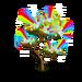 Mystical Rainbow Flower Tree-icon