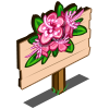 Pink Myrtle Flower Mastery Sign-icon