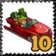 Sleigh CarSleigh Car Stamp-icon