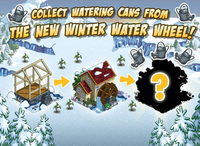 Winter Water Wheel Loading Screen