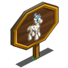 4th Birthday Party Foal Mastery Sign-icon