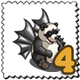 Bat Panda Stamp-icon