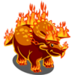 Fire Triceratops-icon