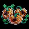 Spiderweb Pumpkin-icon