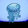 Blue Dalmatian Jellyfish-icon