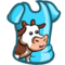 Cow T-Shirt Costume-icon